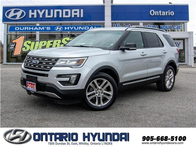 2016 Ford Explorer XLT (Stk: 07618k) in Whitby - Image 1 of 21