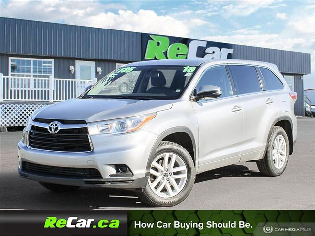 2016 Toyota Highlander LE (Stk: 190496A) in Fredericton - Image 1 of 23