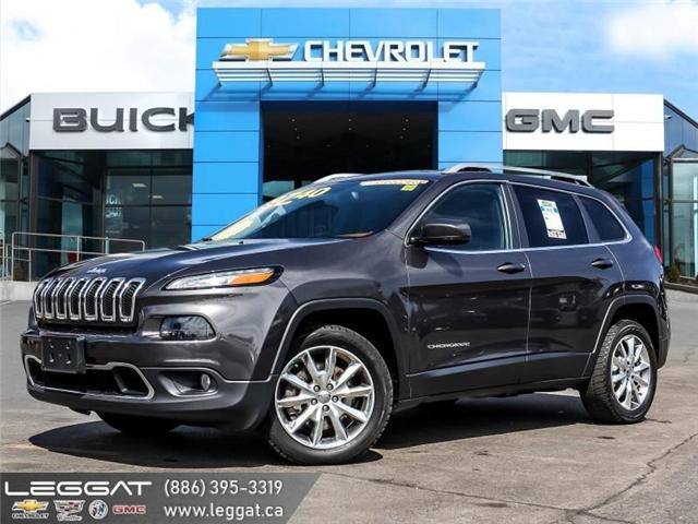 2014 Jeep Cherokee Limited (Stk: 96539A) in Burlington - Image 1 of 30