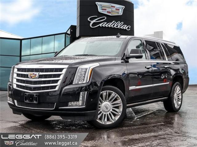 2017 Cadillac Escalade ESV Premium Luxury (Stk: 5661Z) in Burlington - Image 1 of 24