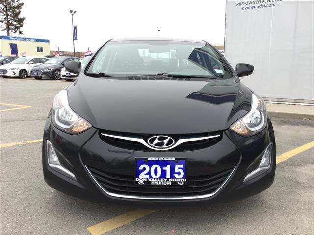 2015 Hyundai Elantra GLS (Stk: 7691H) in Markham - Image 2 of 7