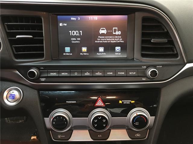2019 Hyundai Elantra Preferred (Stk: 34826EW) in Belleville - Image 8 of 26