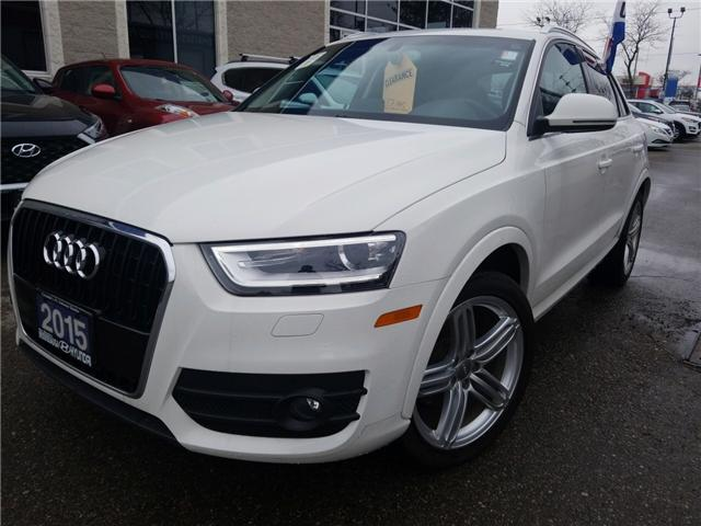 2015 Audi Q3 2.0T Technik (Stk: OP9994) in Mississauga - Image 1 of 17