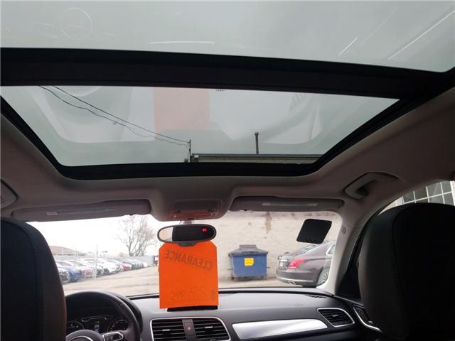 2015 Audi Q3 2.0T Technik (Stk: OP9994) in Mississauga - Image 11 of 17