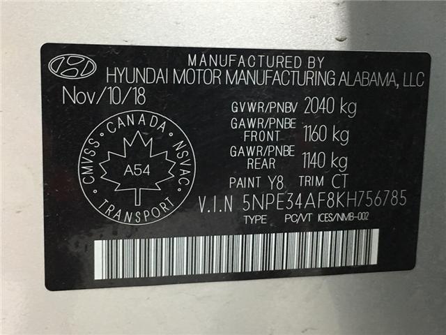 2019 Hyundai Sonata ESSENTIAL (Stk: 34877W) in Belleville - Image 20 of 23