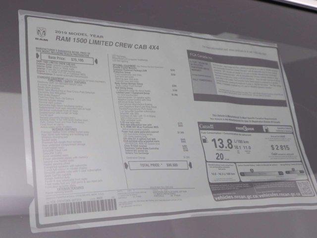 2019 RAM 1500 25M Limited (Stk: 19-110) in Huntsville - Image 44 of 44