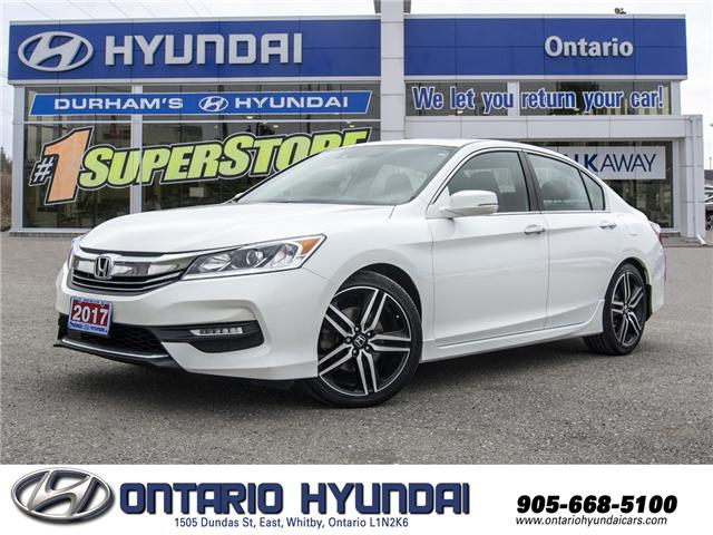 2017 Honda Accord Sport (Stk: 00092K) in Whitby - Image 1 of 24