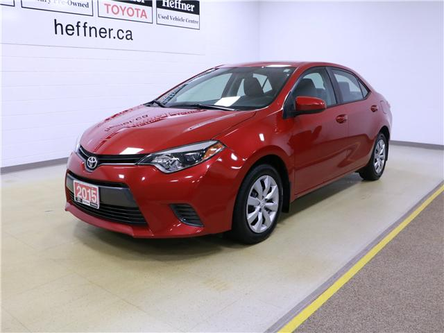 2015 Toyota Corolla LE (Stk: 195323) in Kitchener - Image 1 of 29