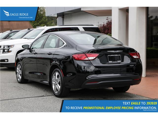 2016 Chrysler 200 LX (Stk: 160079) in Coquitlam - Image 4 of 14