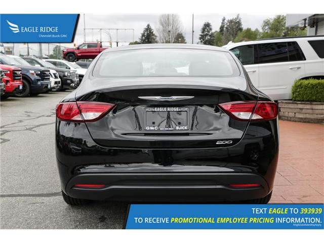 2016 Chrysler 200 LX (Stk: 160079) in Coquitlam - Image 5 of 14