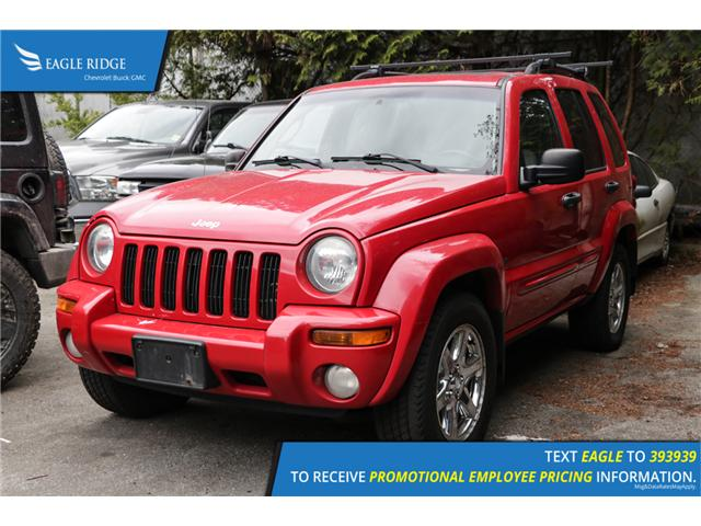 2003 Jeep Liberty Limited Edition (Stk: 038370) in Coquitlam - Image 1 of 3