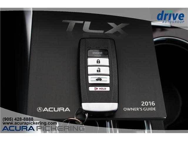2016 Acura TLX Tech (Stk: AT421A) in Pickering - Image 25 of 25