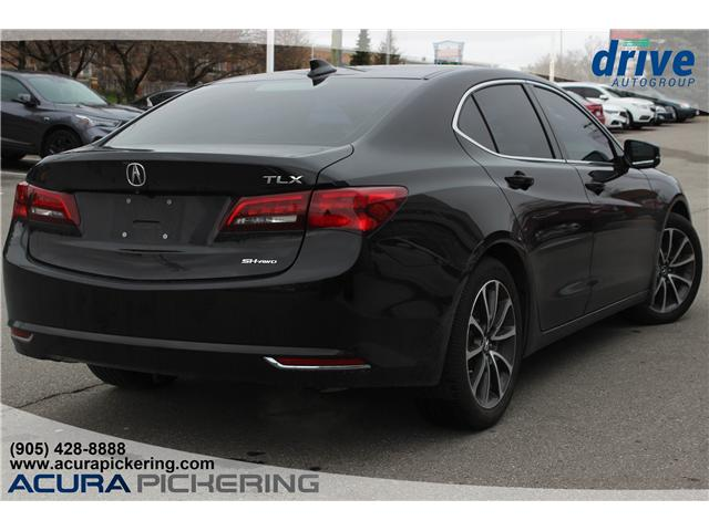 2016 Acura TLX Tech (Stk: AT421A) in Pickering - Image 7 of 25