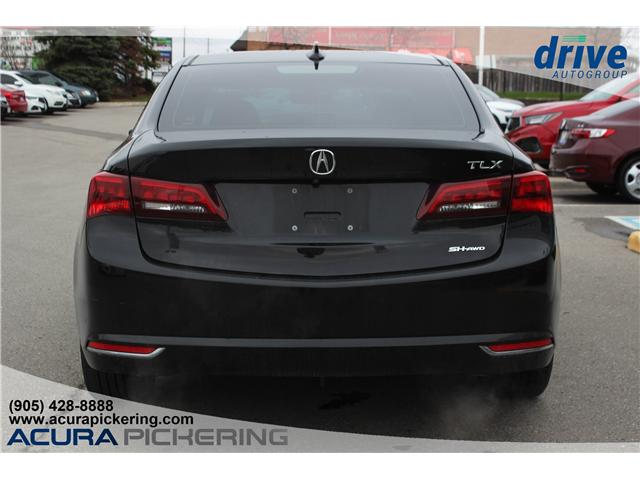 2016 Acura TLX Tech (Stk: AT421A) in Pickering - Image 8 of 25