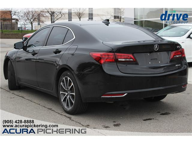 2016 Acura TLX Tech (Stk: AT421A) in Pickering - Image 10 of 25