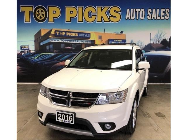 2016 Dodge Journey R/T (Stk: 216147) in NORTH BAY - Image 1 of 29