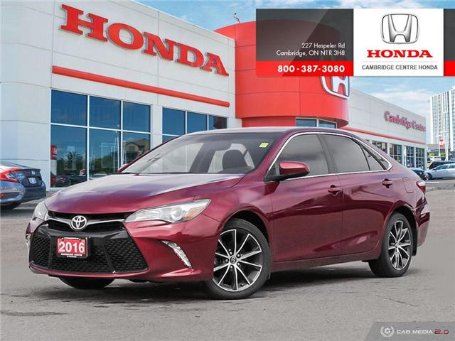 2016 Toyota Camry XSE (Stk: 19719A) in Cambridge - Image 1 of 27