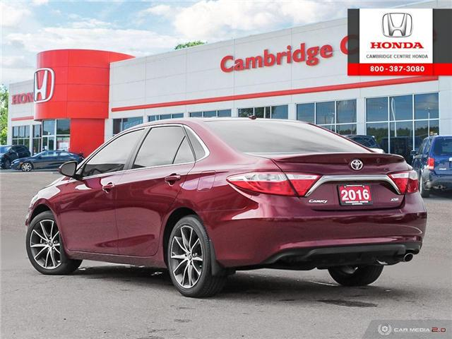 2016 Toyota Camry XSE (Stk: 19719A) in Cambridge - Image 4 of 27