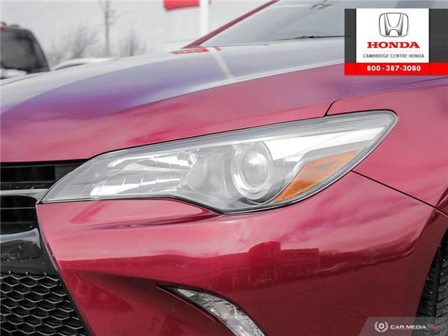 2016 Toyota Camry XSE (Stk: 19719A) in Cambridge - Image 10 of 27