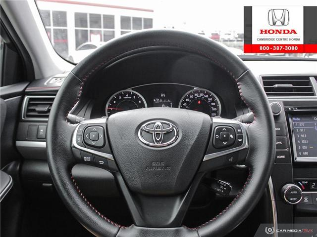 2016 Toyota Camry XSE (Stk: 19719A) in Cambridge - Image 14 of 27