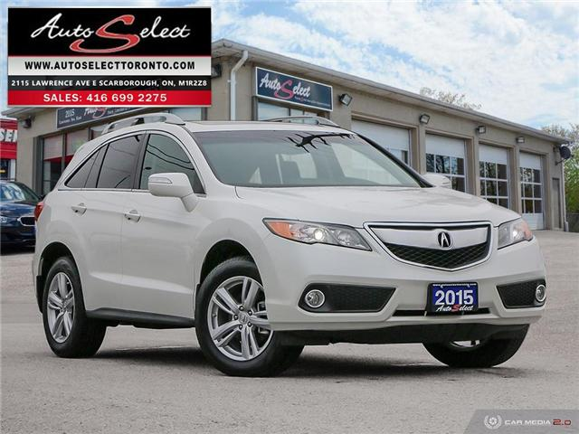 2015 Acura RDX AWD (Stk: 1ARXV76) in Scarborough - Image 1 of 27
