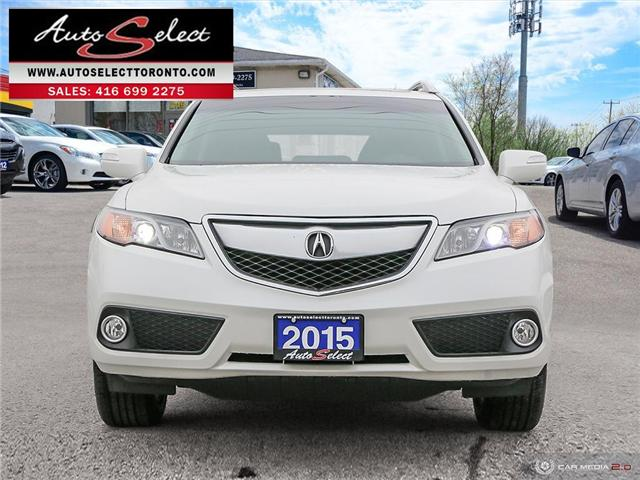 2015 Acura RDX AWD (Stk: 1ARXV76) in Scarborough - Image 2 of 27