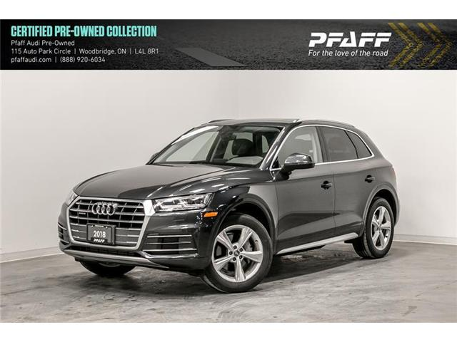 2018 Audi Q5 2.0T Progressiv (Stk: C6661) in Vaughan - Image 1 of 22