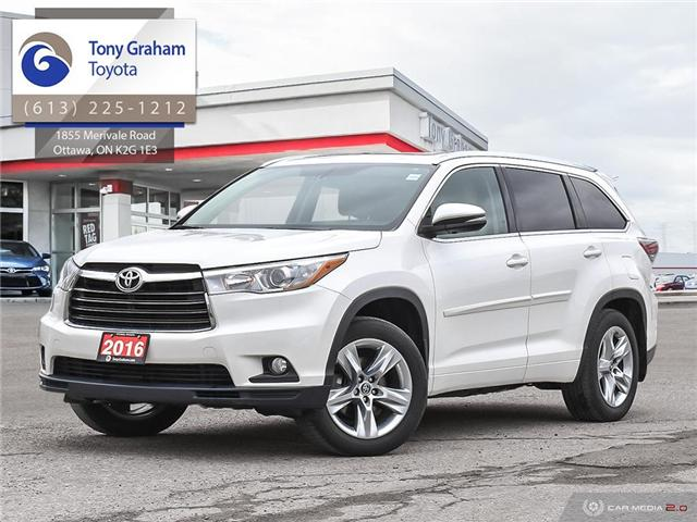2016 Toyota Highlander Limited (Stk: 56944A) in Ottawa - Image 1 of 29