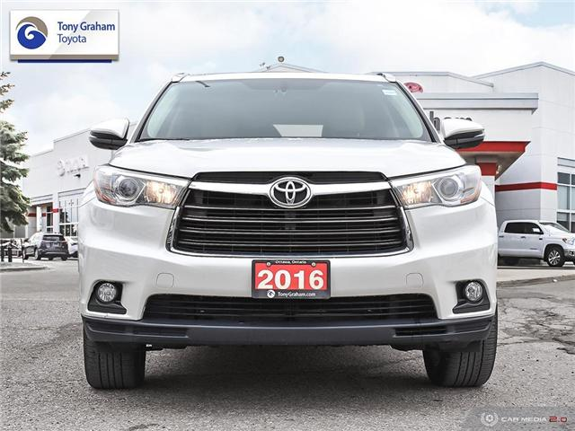 2016 Toyota Highlander Limited (Stk: 56944A) in Ottawa - Image 2 of 29