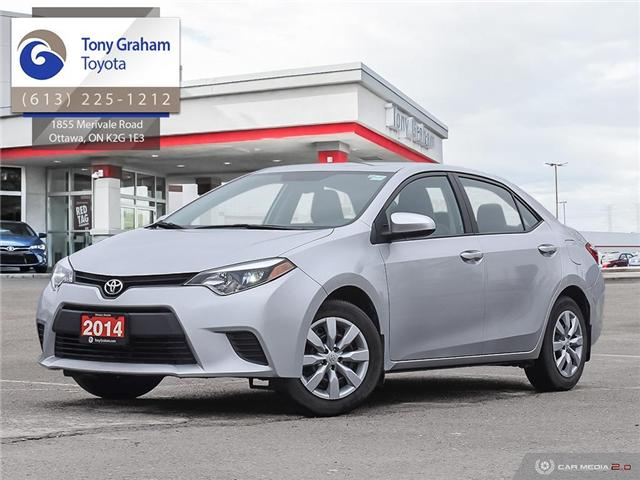 2014 Toyota Corolla LE (Stk: 57859A) in Ottawa - Image 1 of 28