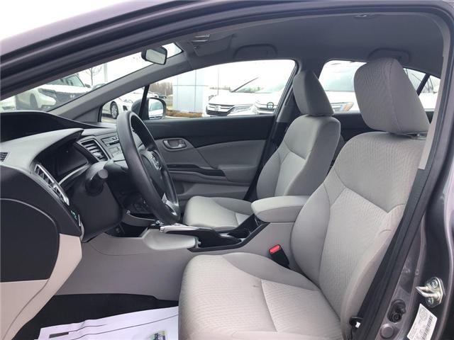 2015 Honda Civic LX (Stk: I190742A) in Mississauga - Image 10 of 18