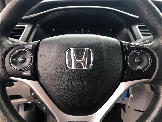 2015 Honda Civic LX (Stk: I190742A) in Mississauga - Image 12 of 18