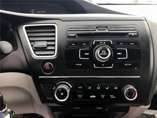 2015 Honda Civic LX (Stk: I190742A) in Mississauga - Image 13 of 18
