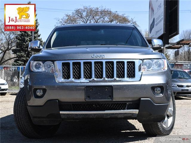 2013 Jeep Grand Cherokee Overland (Stk: JB19028) in Brandon - Image 2 of 27