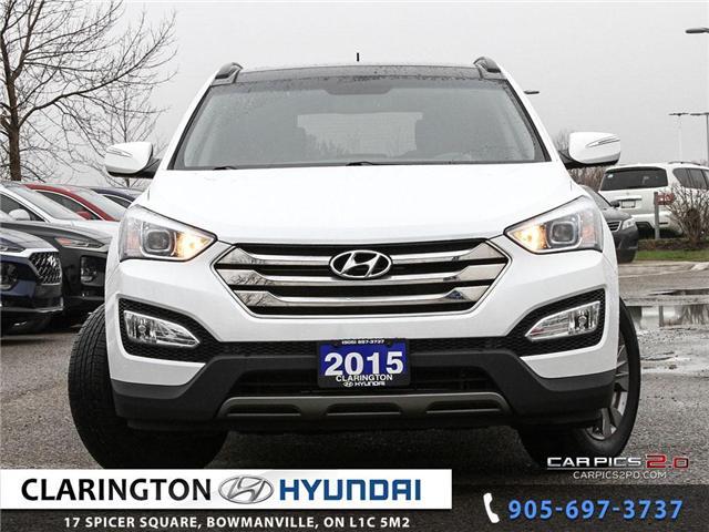 2015 Hyundai Santa Fe Sport 2.4 Luxury (Stk: 19214A) in Clarington - Image 2 of 26