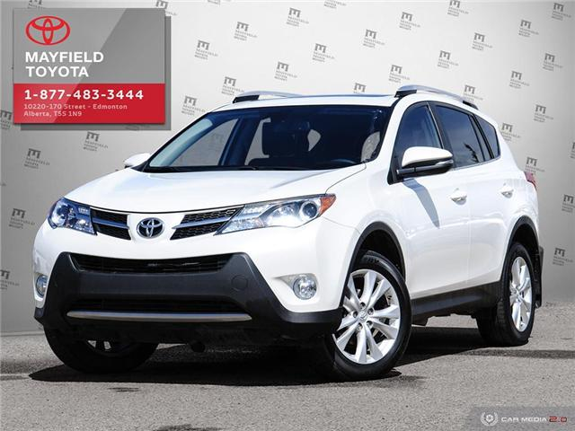 2015 Toyota RAV4 Limited (Stk: 1901050A) in Edmonton - Image 1 of 28