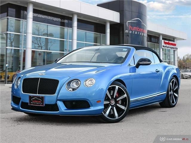 2015 Bentley Continental GTC - (Stk: 18MSX714) in Mississauga - Image 1 of 27