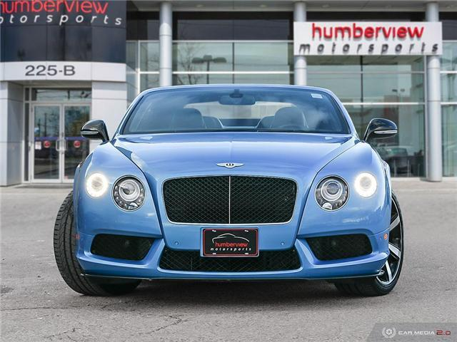 2015 Bentley Continental GTC - (Stk: 18MSX714) in Mississauga - Image 2 of 27
