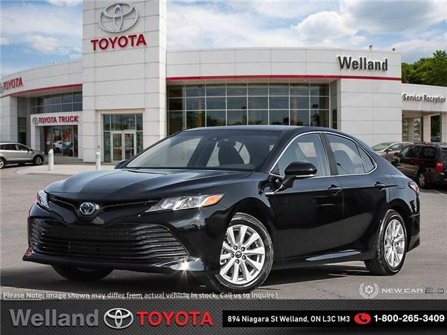 2019 Toyota Camry Hybrid LE (Stk: CAH6551) in Welland - Image 1 of 24
