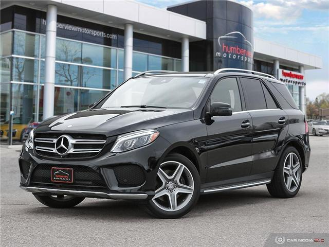 2016 Mercedes-Benz GLE-Class Base (Stk: 19MSC228) in Mississauga - Image 1 of 27