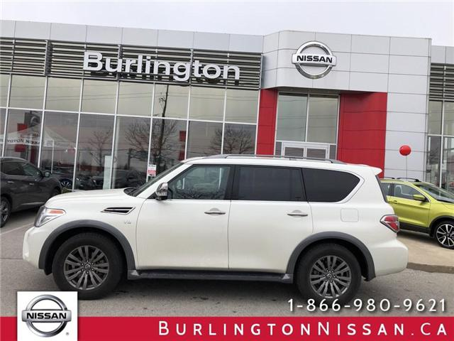 2018 Nissan Armada Platinum (Stk: A6636) in Burlington - Image 1 of 21