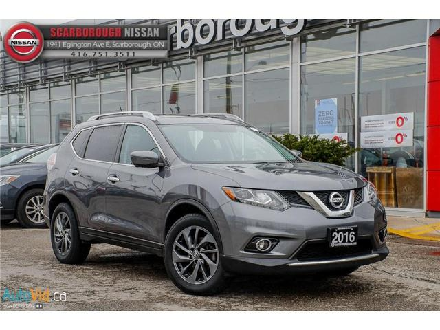 2016 Nissan Rogue  (Stk: Y19101A) in Scarborough - Image 1 of 27