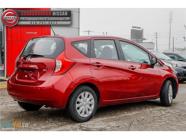 2016 Nissan Versa Note 1.6 SV (Stk: B19013A) in Scarborough - Image 5 of 24