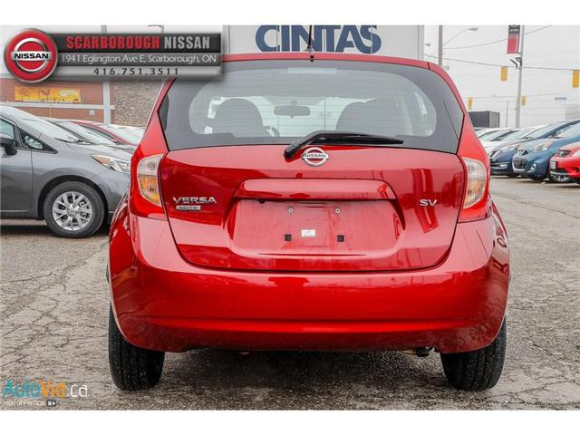 2016 Nissan Versa Note 1.6 SV (Stk: B19013A) in Scarborough - Image 6 of 24