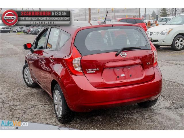 2016 Nissan Versa Note 1.6 SV (Stk: B19013A) in Scarborough - Image 7 of 24