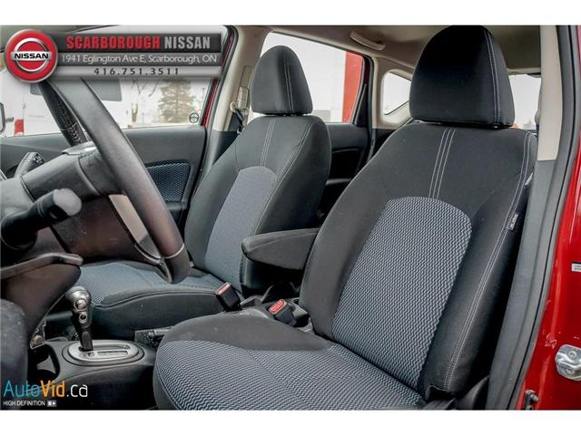 2016 Nissan Versa Note 1.6 SV (Stk: B19013A) in Scarborough - Image 13 of 24