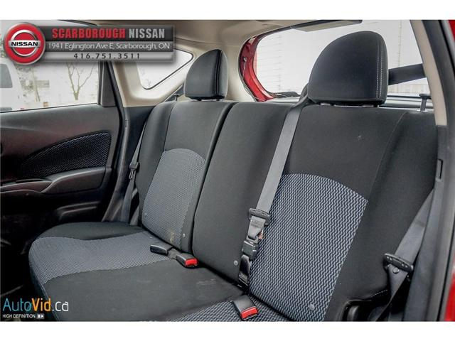 2016 Nissan Versa Note 1.6 SV (Stk: B19013A) in Scarborough - Image 14 of 24