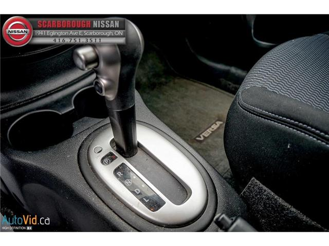 2016 Nissan Versa Note 1.6 SV (Stk: B19013A) in Scarborough - Image 23 of 24