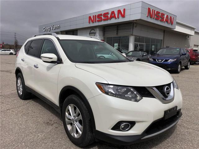 2016 Nissan Rogue SV (Stk: U1092A) in Cambridge - Image 1 of 24
