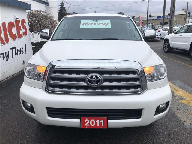 2011 Toyota Sequoia Platinum 5.7L V8 (Stk: 19-270T) in Oshawa - Image 2 of 22